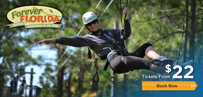Forever Florida Zipline Adventure